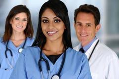 Doctores y enfermera imagen de archivo libre de regalías