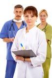 Doctores y enfermera Fotografía de archivo