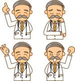 Doctors. This is an illustration of a doctor Royalty Free Stock Photos