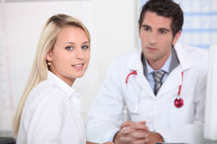 Doctors appointment Stock Photos