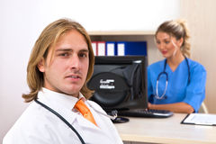 Doctors as a team Stock Photos