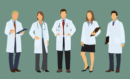 Doctors of Both Sexes Stock Photo