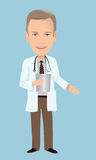 Doctors caricature Royalty Free Stock Photos