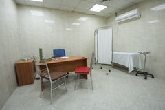 Doctors consultation room in hospital Stock Photos