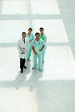 Doctors in a corridor Royalty Free Stock Images