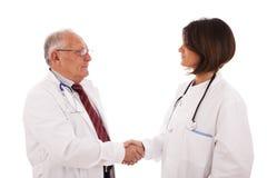 Doctors deal Stock Image