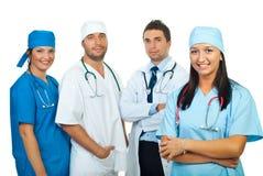 doctors det lyckliga laget Arkivfoton