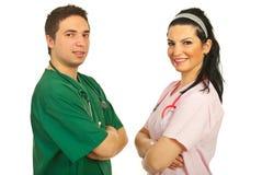 doctors det lyckliga laget Arkivfoto