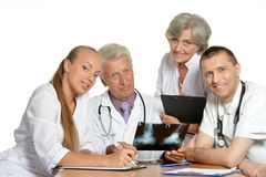 Doctors discussion Stock Photography