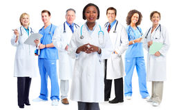 Doctors group Stock Photo