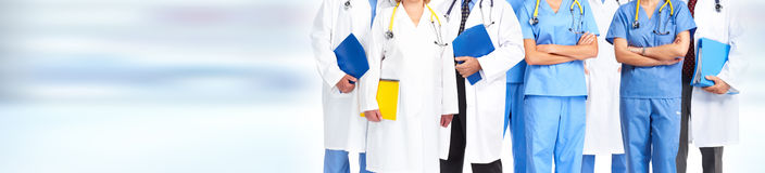 Doctors group Stock Image