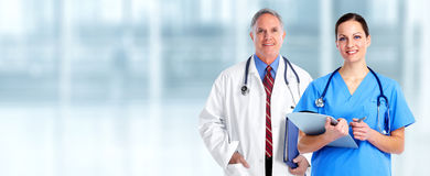 Doctors group. Stock Images