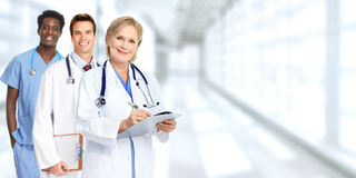 Doctors group. Royalty Free Stock Photos