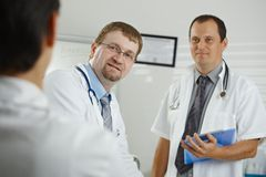 Doctors having consultation Royalty Free Stock Images