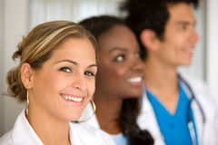 Doctors in a hospital Stock Photography