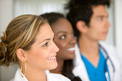 Doctors in a hospital Royalty Free Stock Images