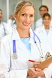 Doctors in a hospital Stock Images