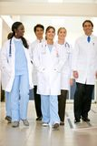Doctors in a hospital Stock Image