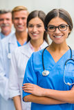 Doctors in hospital Royalty Free Stock Photography