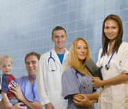 Doctors and Interns Royalty Free Stock Photos