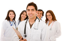 Doctors - isolated Stock Photos