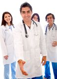 Doctors - isolated Royalty Free Stock Images