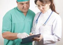 doctors läkarundersökning Royaltyfria Foton