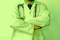 Doctors lab white coat Royalty Free Stock Photos