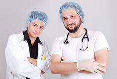 doctors manlig två royaltyfria foton
