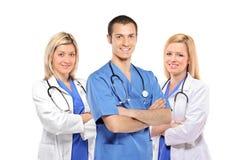 doctors medicinska le stetoskop Royaltyfri Fotografi
