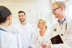 Doctors in meeting. As colleagues in hospital Royalty Free Stock Photography