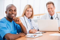 Doctors meeting. Royalty Free Stock Photography