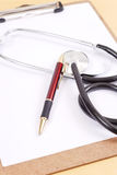 Doctors Notes Stock Photography
