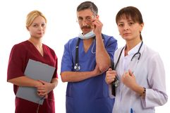 Doctors and nurse Royalty Free Stock Photography