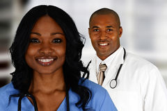 Doctors and Nurse Royalty Free Stock Images