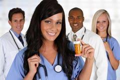 Doctors and Nurse Stock Photo