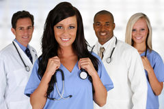 Doctors and Nurse Royalty Free Stock Photo