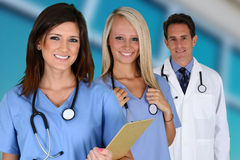 Doctors and Nurse Stock Image