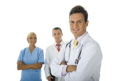 Hospital Crew Royalty Free Stock Image