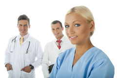 Pro Health Team Royalty Free Stock Photography