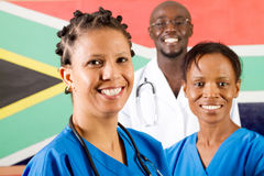 Doctors and nurses Stock Image
