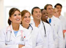 Doctors and nurses Royalty Free Stock Image