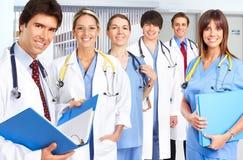 Doctors and nurses Stock Photo