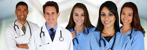 Doctors and Nurses Royalty Free Stock Photo