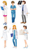 Doctors and nurses Stock Images