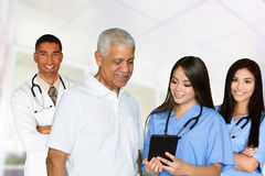 Doctors and Nurses Royalty Free Stock Photography