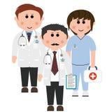 Doctors and nurses Stock Image