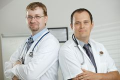 Doctors in office Royalty Free Stock Images