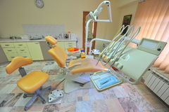 Doctors office (dental care tools) Stock Photography