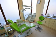 Doctors office (dental care tools) Stock Photos